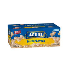 ACT II Butter Lovers Microwave Popcorn (28 ct.)