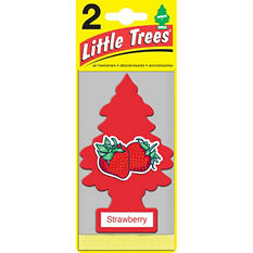 Little Trees Strawberry Air Fresheners (2 ct.)