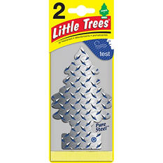 Little Trees Pure Steel Air Fresheners (2 ct.)