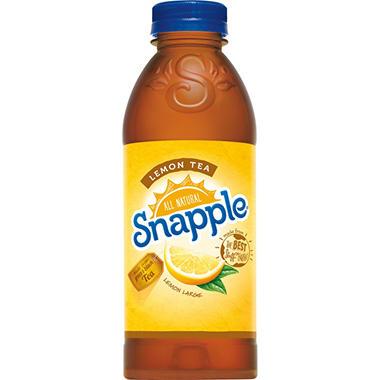 Snapple® All Natural Lemon Tea - 24/20 oz.