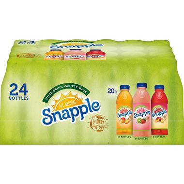 Snapple® Juice Variety Pack - 24/16 oz. bottles