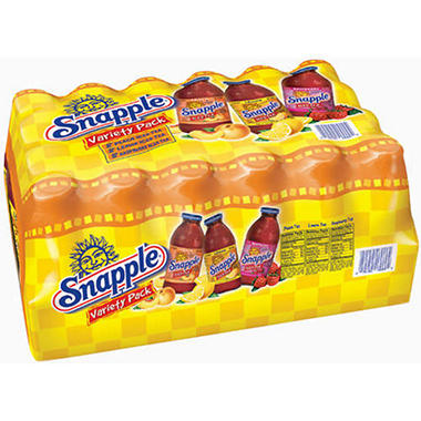 Snapple® Iced Tea Variety Pack - 24/16 oz. btls.