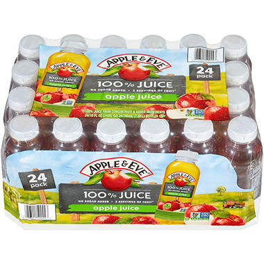 APPLE & EVE 100% APPLE JUICE 24/10OZ