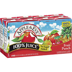 Apple & Eve Fruit Punch 100% Juice - 6.75 fl. oz. - 8 pk.