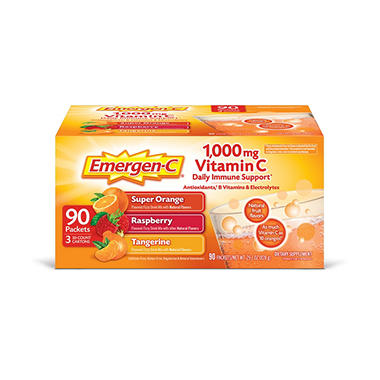 Emergen-C Variety Flavor Pack - 90 ct.