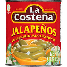La Costeña® Jalapeño Peppers - 93 oz. can
