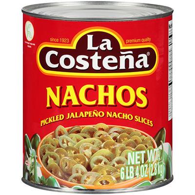 La Costeña® Jalapeño Nacho Slices - 100 oz.