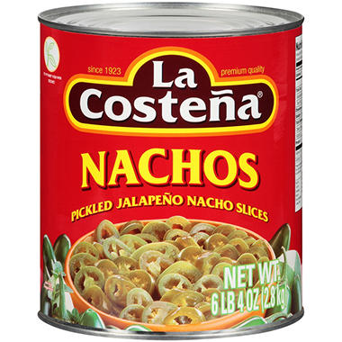 La Coste�a� Jalape�o Nacho Slices - 100 oz.