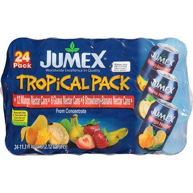 Jumex� Tropical Pack - 24/11.3 oz. cans
