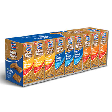 Lance Whole Grain Variety Sandwich Crackers - 36 ct.