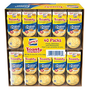 Lance Toasty Peanut Butter Cracker Sandwiches (40 ct.)