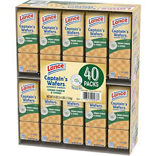Lance Captain's Wafers Cream Cheese & Chives Crackers (40 ct.)