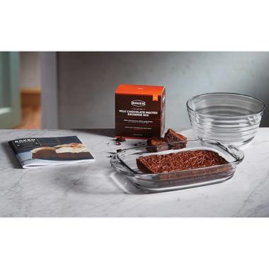 Baked and FireKing 4-Piece Baking Set