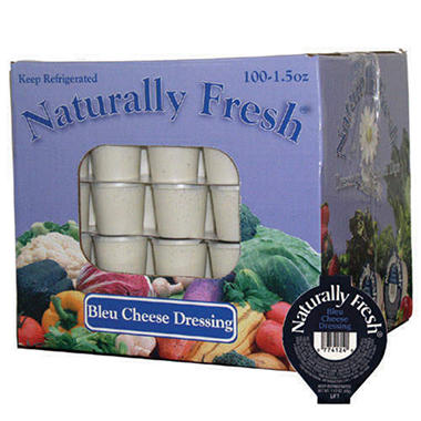 Naturally Fresh� Bleu Cheese Dressing - 100/1.5oz
