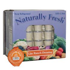Naturally Fresh® Lite Ranch Dressing - 100/1.5oz