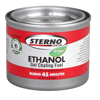 Sterno Gel Chafing Fuel - 45 Minutes - 144 ct.