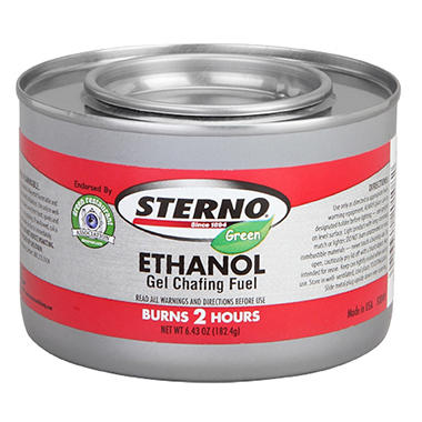 Sterno® Smart Can™ Gel Chafin Fuel - 2-Hour-72 ct.