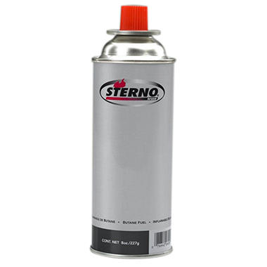 Sterno� Butane Fuel Cartridge - 8 oz. - 12 pk.