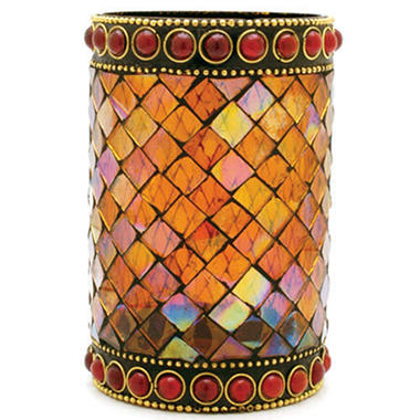 Mosaic Petite Candle Holder - Red - 6 ct.