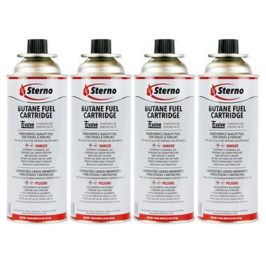 Sterno CandleLamp Butane Fuel (8 oz. - 4 pk.)