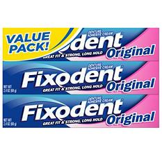 Fixodent Denture Adhesive Cream - 3/2.4 oz.