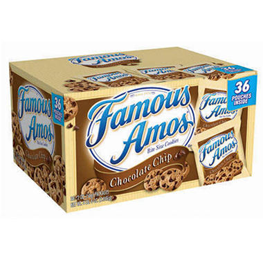 Famous Amos® Chocolate Chip Cookies - 2 oz. - 36 ct.