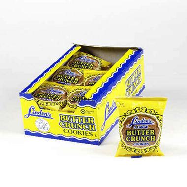 Linden Butter Crunch Cookies - 18 ct.