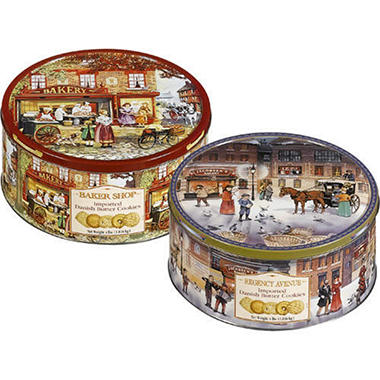 Jacobsen's Bakery Butter Cookie Tin - 4 lbs.