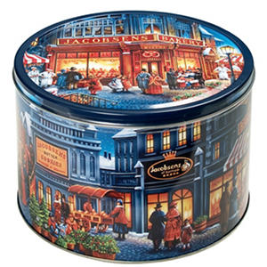 Jacobsen's Danish Butter Cookies Tin (4 lb.)