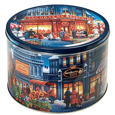 Danish Butter Cookies Tin - 4 lbs.