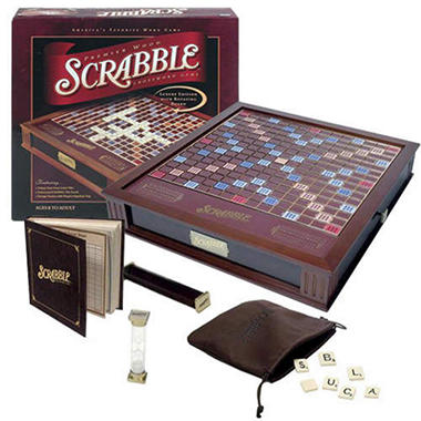 Wooden Premier Scrabble� Game