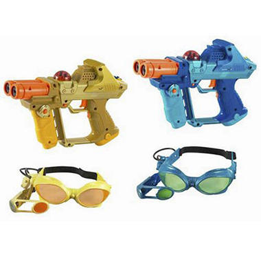 Lazer Tag Team Ops Deluxe 2-Player Set