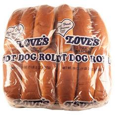 """Love's 6"""" Hot Dog Buns (12 ct., 2 pk.)"""