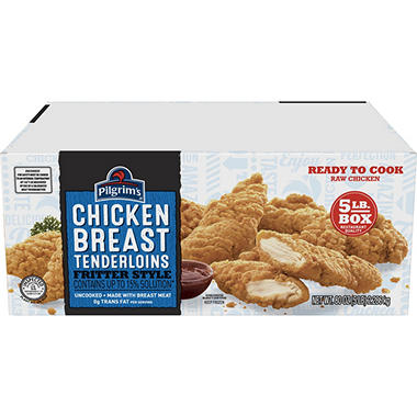 Pilgrim's Homestyle Chicken Tenderloins - 5 lbs.