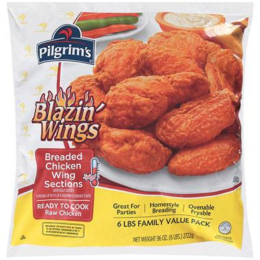 Pilgrim's Pride® Blazin' Wings® - 6 lb.