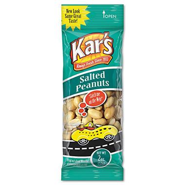 Kar's Nuts 2 oz. Salted Peanuts - 24  Pk.