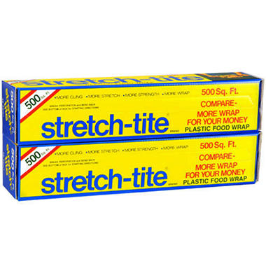 Stretch-Tite® Food Wrap - 2/500 sq. ft. boxes