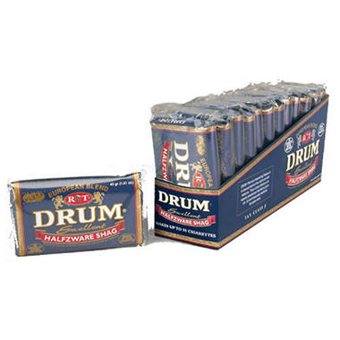 Drum Handrolling Tobacco - 12 / 1.41 oz. pouches