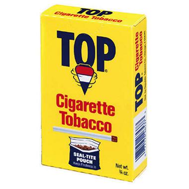 TOP Tobacco Regular Pouches - .6 oz. - 12 ct.