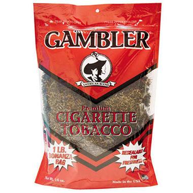 Gambler® Premium Cigarette Tobacco - 16 oz.