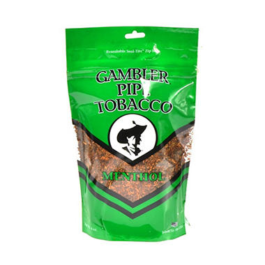 Gambler Medium Mint Pipe Tobacco - 6 oz. bag