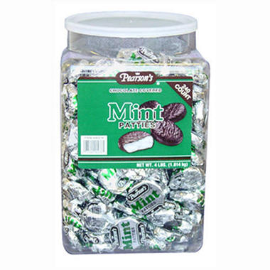 Pearson's Dark Chocolate Mint Patties (240 ct. jar)