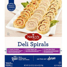Nancy's Deli Spirals Variety Pack (72 ct.)