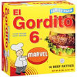 Marvel® El Gordito Beef Patties - 16/6 oz.