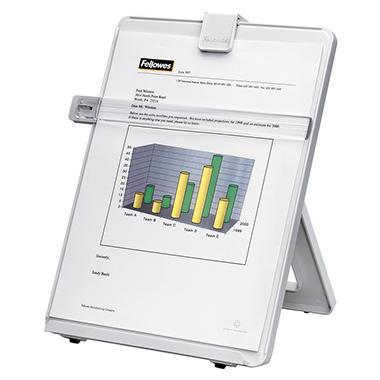 Fellowes Non-Magnetic Copyholder - Letter - Platinum