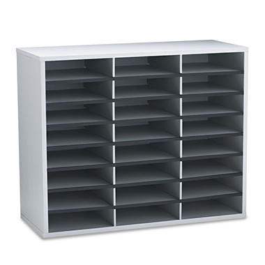 Fellowes - Literature Organizer, Gray - Various Sizes