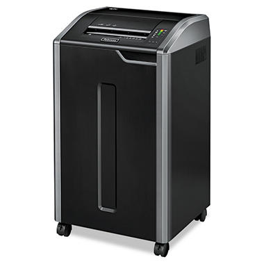 Fellowes Powershred 425i Continuous-Duty Strip-Cut Shredder - 38 Sheet Capacity