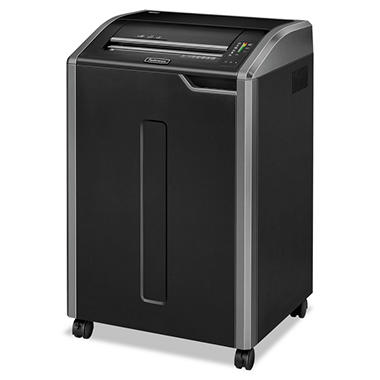 Fellowes Powershred 485i Continuous-Duty Strip-Cut Shredder - 38 Sheet Capacity