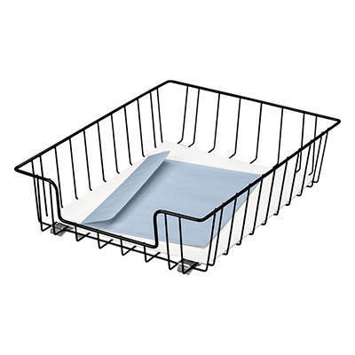 """Fellowes Wire 3"""" Letter Tray"""
