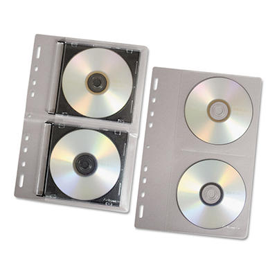 Fellowes CD Binder Sheet - 10 pk.